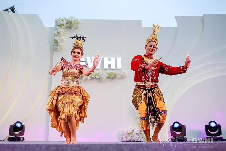 泰国婚俗表演